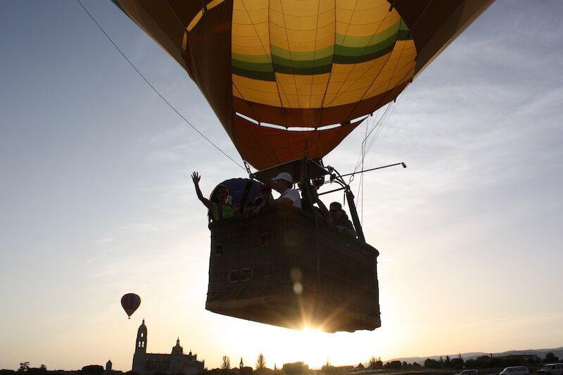 ¿Cuántas aventuras nos deparan? - Despegando vuelo en globo en Segovia
