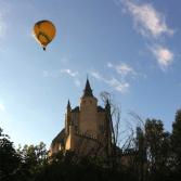 Como el Vuelo en Globo sobre Segovia