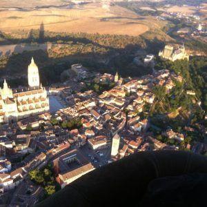 Vuelo en Globo en Segovia ME! 01-07