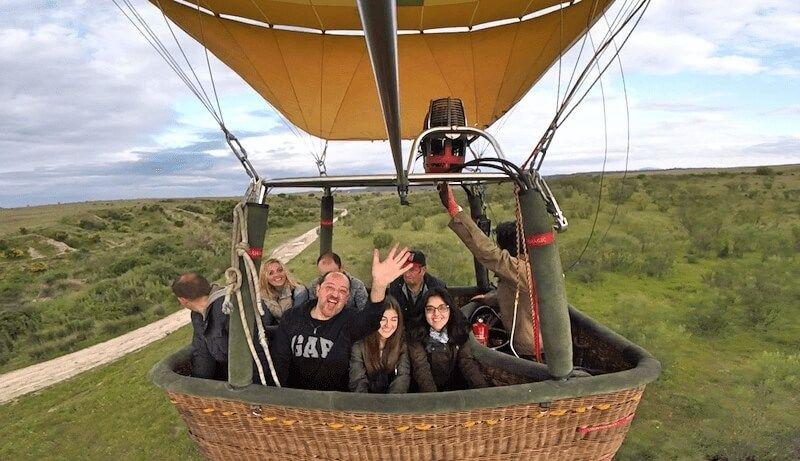 Viaje en Globo en Madrid 15/05/16. Preparando el aterrizaje en el viaje en globo en Madrid