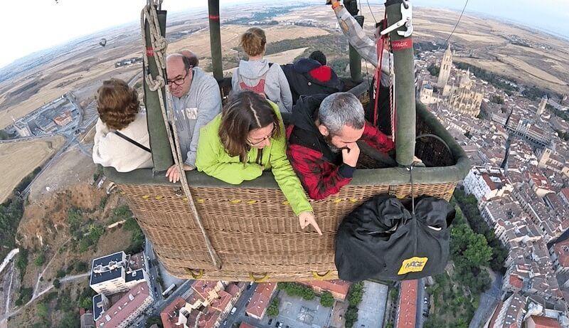Vuelo en Globo en Segovia 17/09/16. Detalles que podemos ver desde el viaje en globo en Segovia