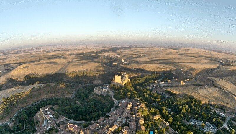 Viaje en Globo en Segovia 01-11-16