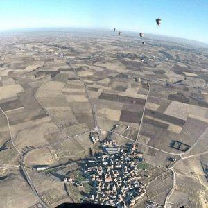 Vuelo en Globo en Segovia 29/10/16