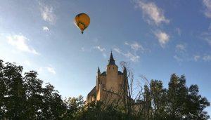 Cade época del año hace el vuelo en globo unico