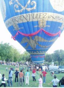 ¿por qué vuela un globo? replica del Aranjuez
