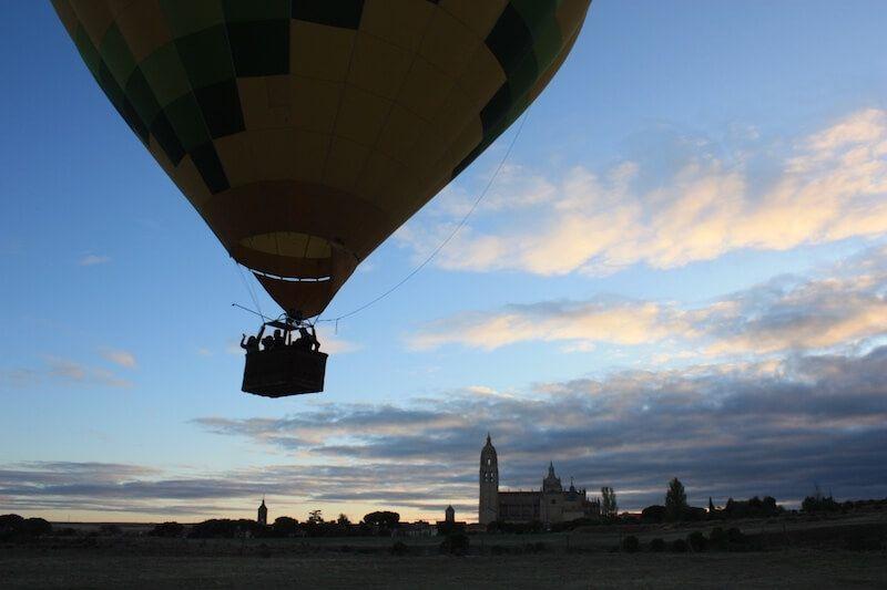 Vuelo en Globo en Segovia 10-09-17