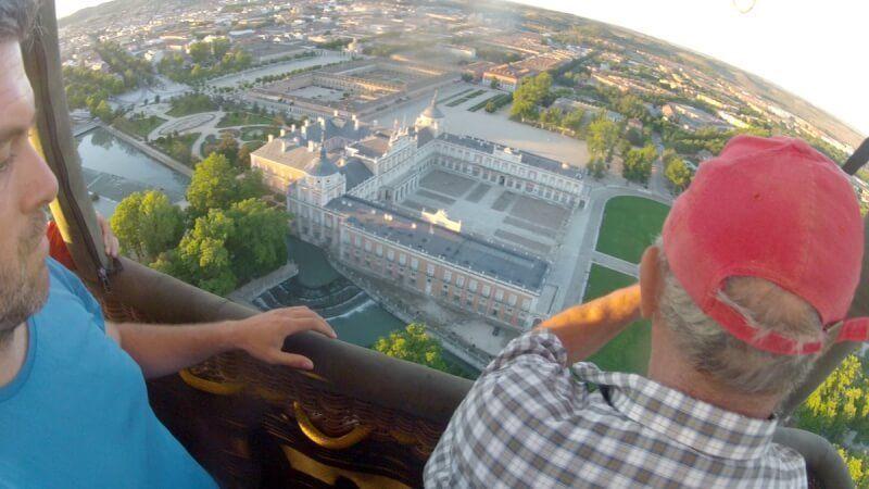 viaje en Globo en Aranjuez