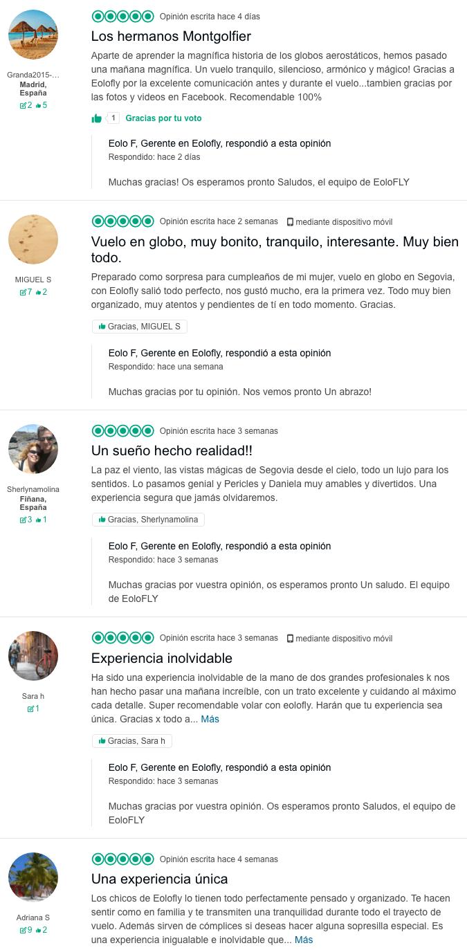 Opiniones EoloFLY TripAdvisor