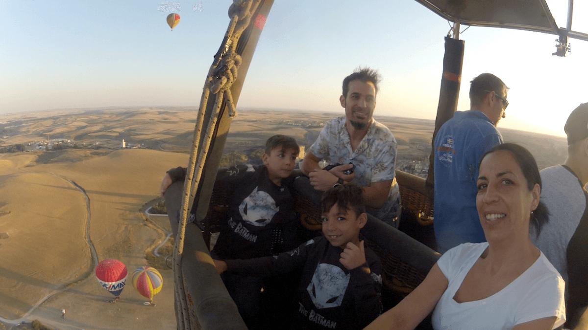 Globo Aerostático Infantil Segovia