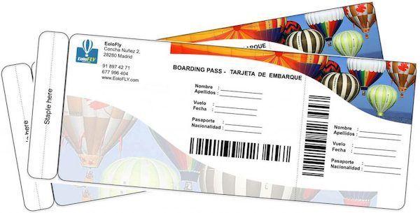 2 Billetes de vuelo en globo en Segovia con Noche de Hotel
