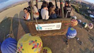 Los pasajeros, protagonistas del Festival del Globo de Segovia