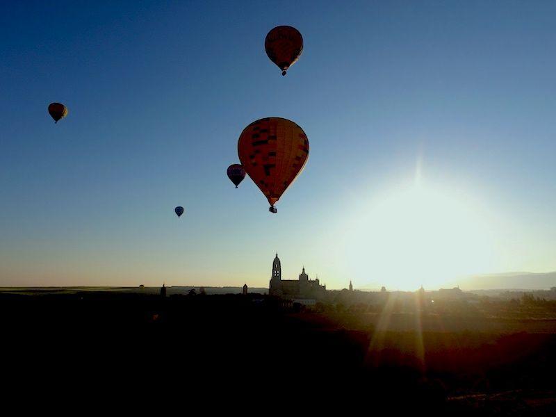 Globos en Segovia