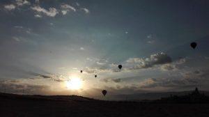 Vuelo en globo en Segovia 12-08-18