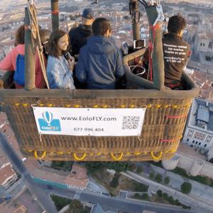 Viaje en globo en Ávila