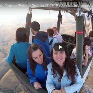 Viaje en Globo en Segovia 02-09-18