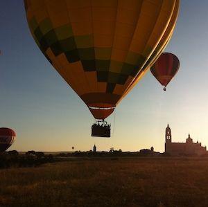 Viaje en Globo aerostático en Segovia