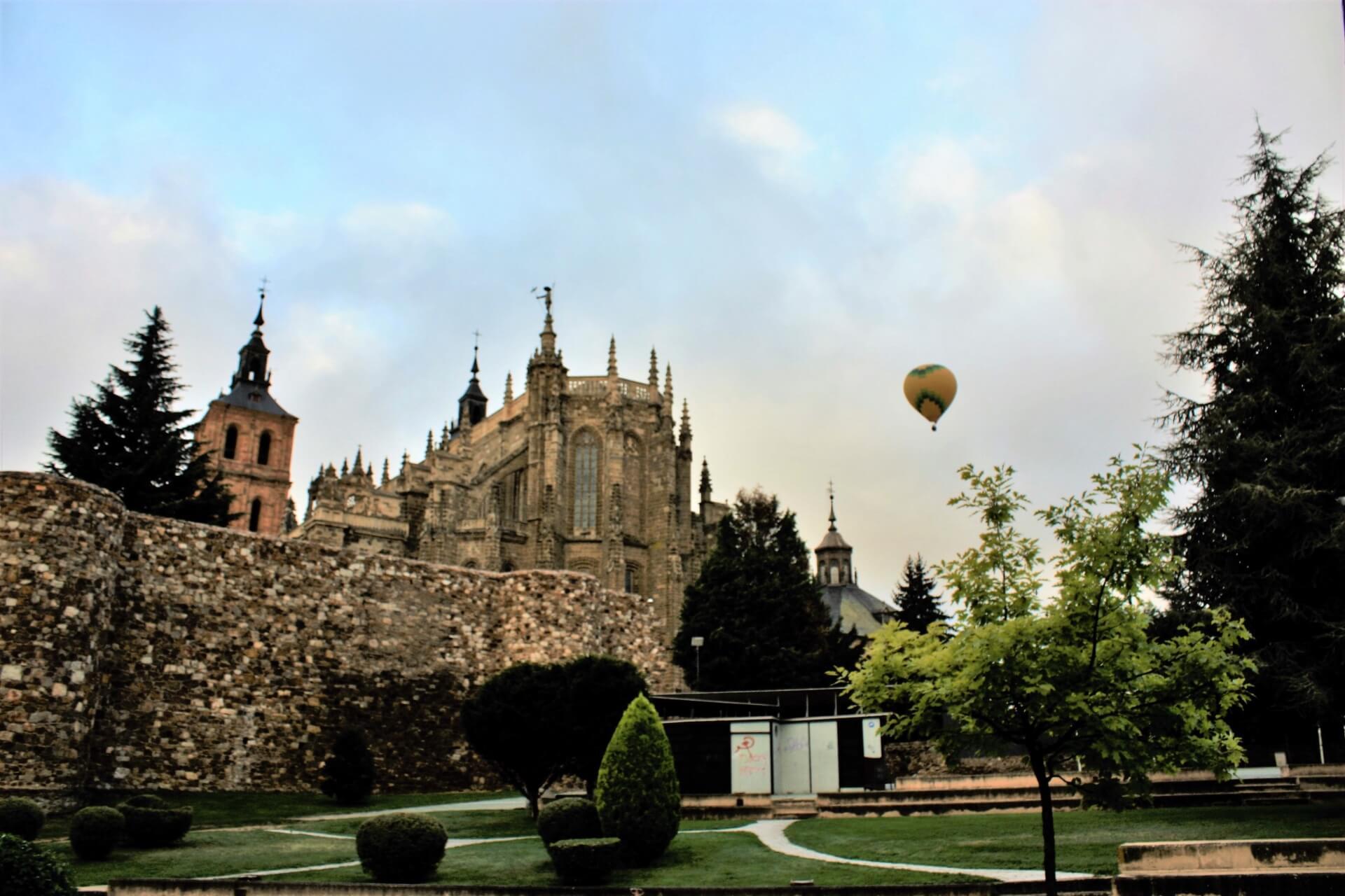 Viaje en Globo en Astorga