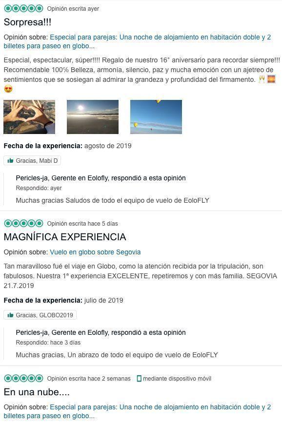 Opiniones - Segovia desde el aire
