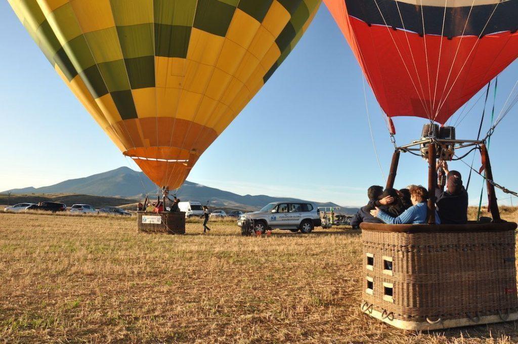Viaje en Globo en Ágreda Soria 07-09-19. Listos para despegar