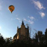Viaje y paseo en globo en Segovia