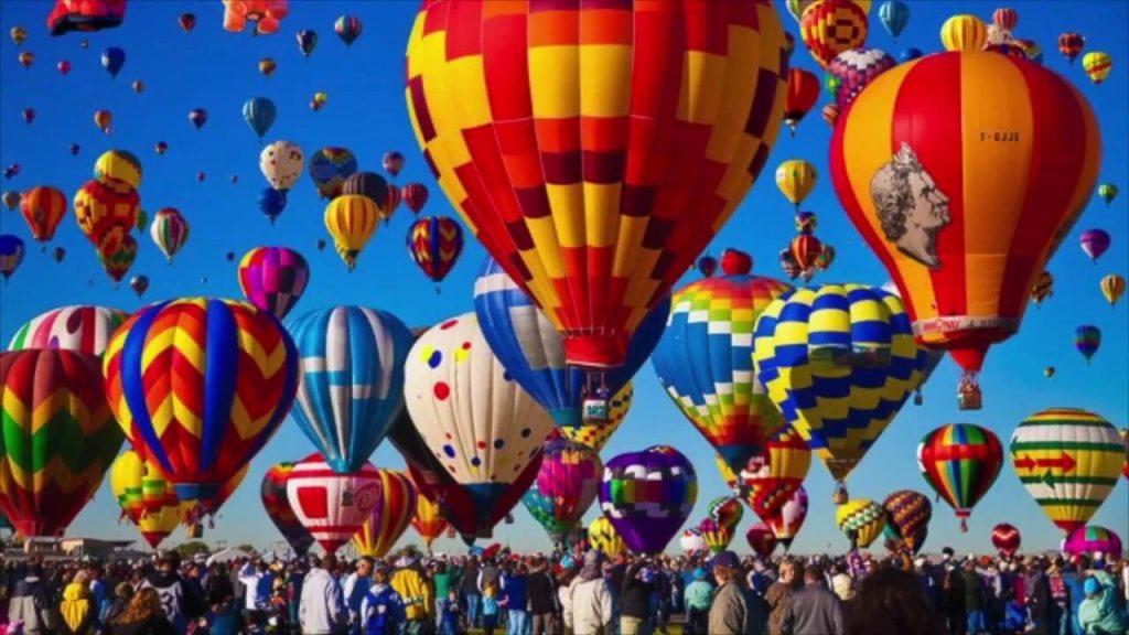El mejor vuelo en globo de América. Festival de Globos Aerostáticos de Alburquerque - EE.UU.