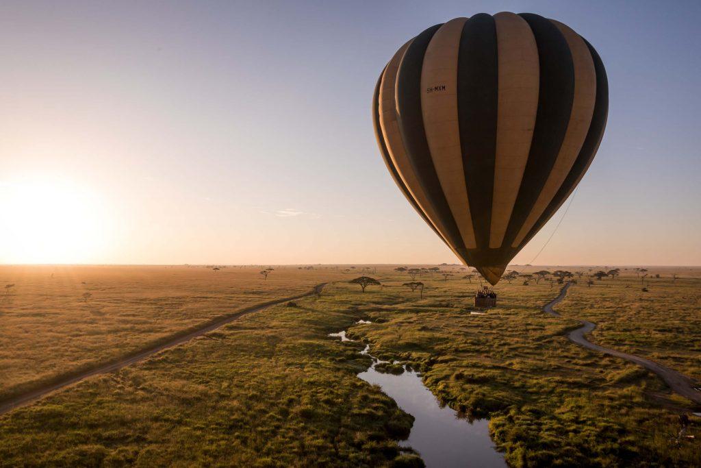 El mejor vuelo en globo del continente africano - Parque Nacional del Serengueti - Tanzania
