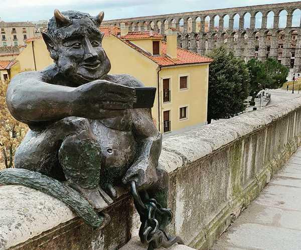 Las Mejores vistas de Segovia, Mirador del Diablo