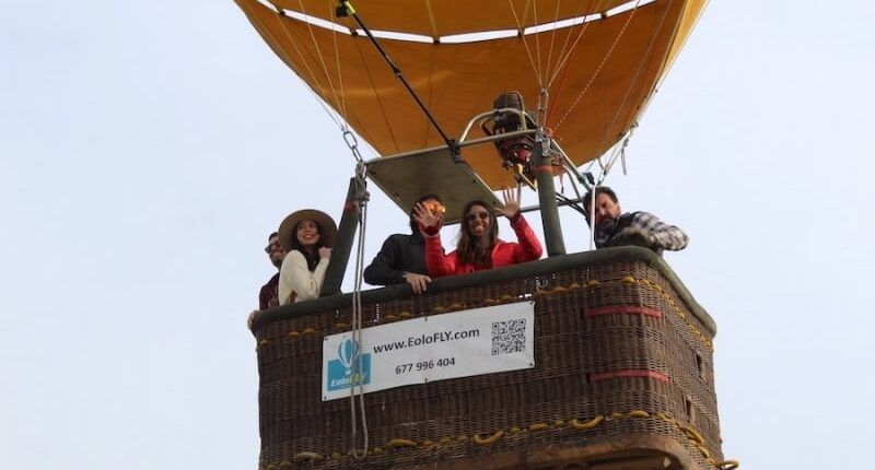 Billete paseo en globo en Segovia