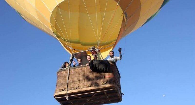 globo en Segovia