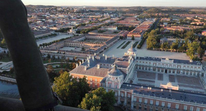 Paseo en globo para dos sobre Aranjuez