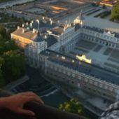 Palacio de Aranjuez desde el viaje en globo aerostático