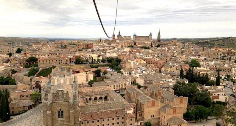 vuelo en globo en Toeldo y visita guiada Toledo Mágico
