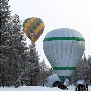 Preguntas frecuentes ¿Qué altura tiene un globo?