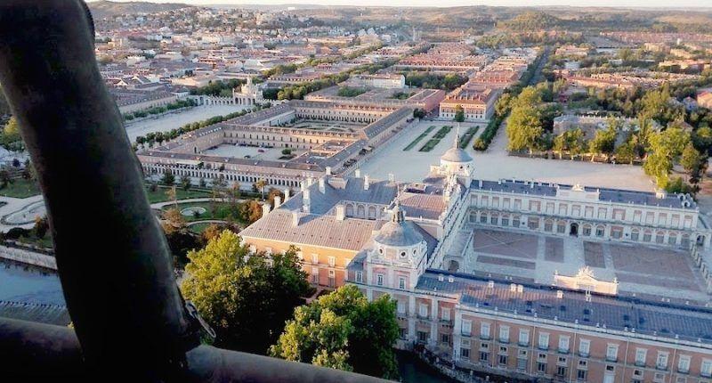 Vuelo en globo en Madrid - Aranjuez